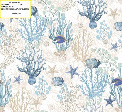 tecido impermeável acquablock karsten original  al mare 5mts
