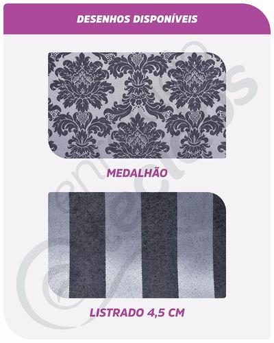 tecido jacquard azul frozen brocado 5m x 2,8m para decoração