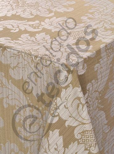 tecido jacquard luxo bege listrado 1m x 2,8m para decoração