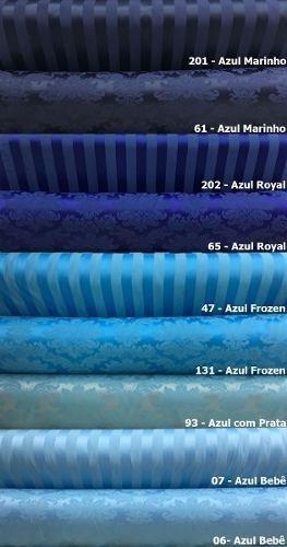 tecido jacquard para decoração 1x2.80m escolha a cor