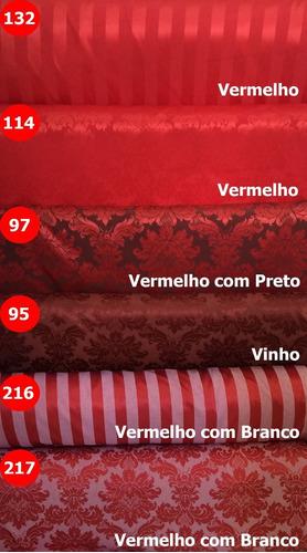 tecido jacquard para decoração diversas cores 2,00m x 2,80m