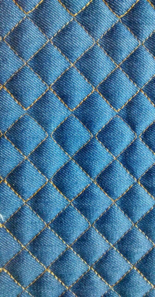 1ed2d9b0ed Tecido Jeans Matelasse 1,50 De Largura - R$ 42,90 em Mercado Livre