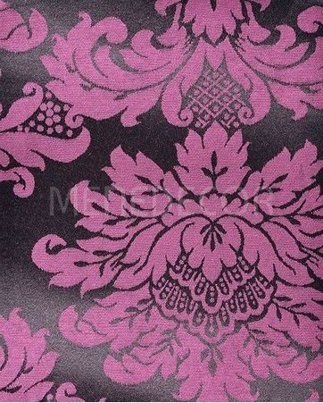 tecido para decoração jacquard rosa e preto 10m x 2.80m