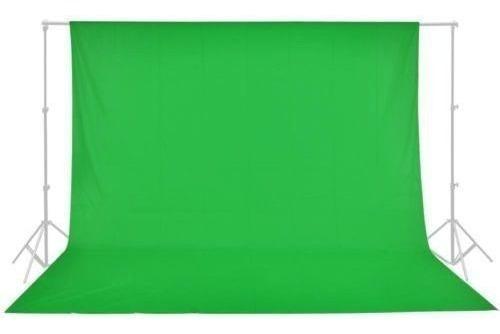 tecido para foto fundo infinito muslin verde croma key 3x5m