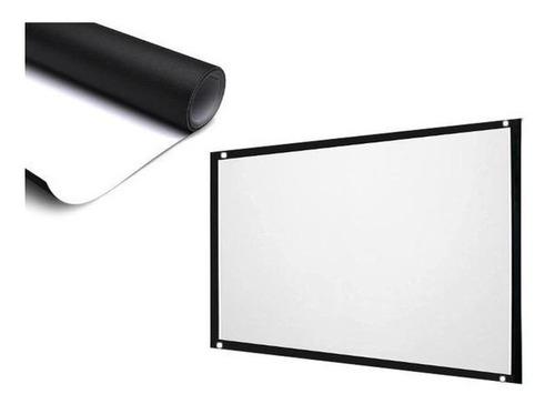 tecido para tela de projeção para projetor hd 3d ou standard