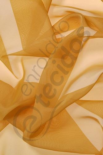 tecido voil dourado 3m largura importado 3m x 3m decoração