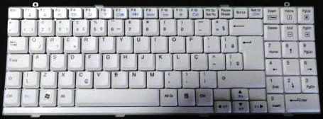 tecla avulsa - (9) - para teclado lg r410 r510 s510