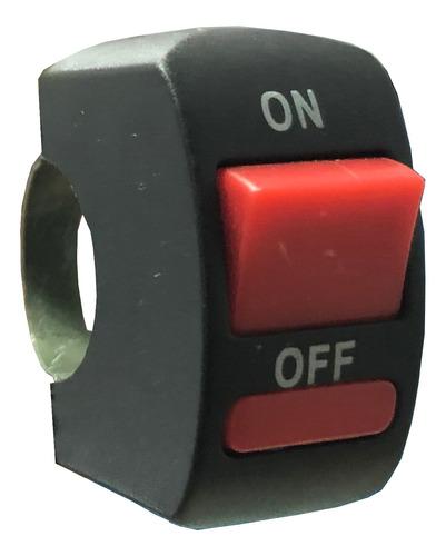 tecla luz switch on-off para moto iael ee-027