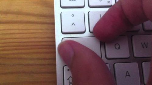 tecla + presilha avulsa do teclado wireless apple a1314