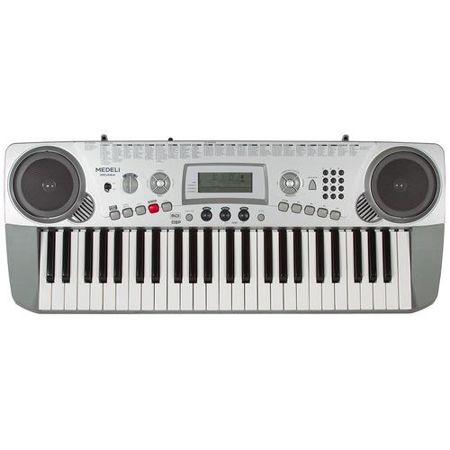 teclado 49 teclas mc49a usb midi medeli c fonte frete grátis