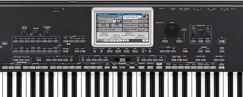 teclado 6/8 korg pa-3x le arranjador profissional .: