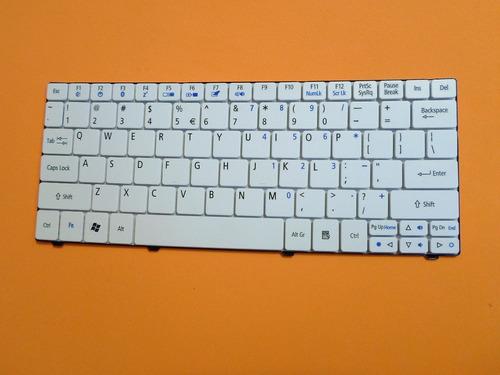 teclado acer ao 721 branco