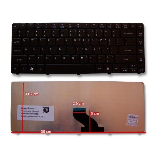 teclado acer aspire 3820 4733 4738 emachines d440 d640 d732