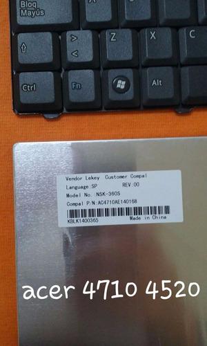 teclado acer aspire 4520 4710 5315 5920 5710 español