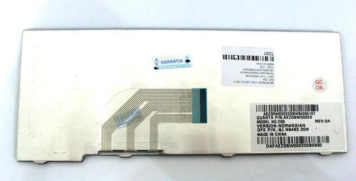 teclado acer aspire one a110 a150 d150 d250 preto ç br