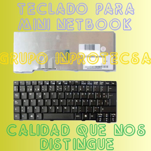 teclado acer aspire one mini netbook zg5 a150 d250 daa