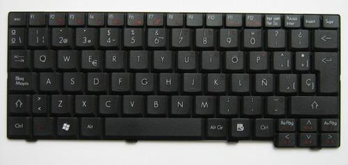 teclado acer aspire one zg5/ a110/ 150/ kav10/kav60/d250/268