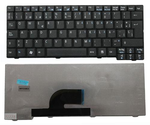 teclado acer one zg5 aoa150-1329 aoa150-1348 negro español