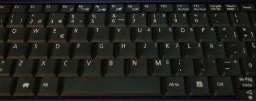 teclado acer one zg5 nuevos en  español disponibles