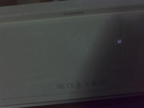 teclado apple en español original, carcasa de aluminio 2usb