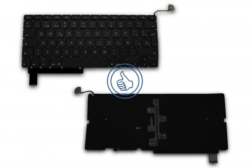 teclado apple macbook pro a1286 negro español