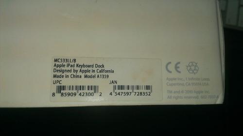 teclado apple para iphone ipad ipod