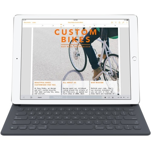 teclado apple smart keyboard para ipad pro de 12.9 espanol