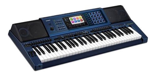 teclado arranjador 61 teclas 16 pads mz-x500 casio promoção