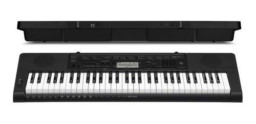 teclado arranjador casio ctk3500 + capa + estante