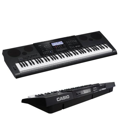 teclado arranjador casio wk 7600 76 teclas - maxcomp musical