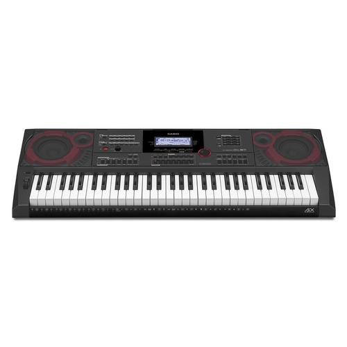 teclado arranjador musical 61 teclas ctx-5000 casio + fonte
