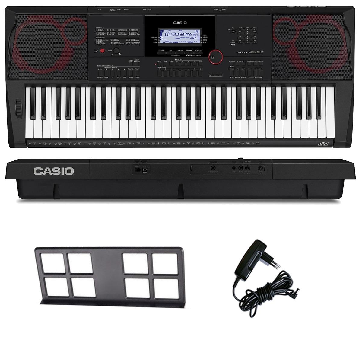 4571b016a90 teclado arranjador musical 61 teclas ctx3000 casio com fonte. Carregando  zoom.