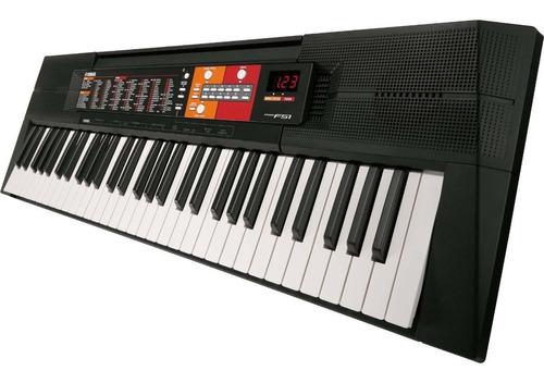 teclado arranjador psr-f51 preto yamaha