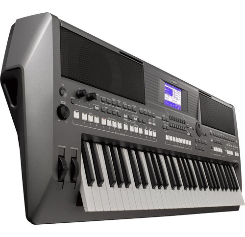 teclado arranjador psr-s670 preto yamaha