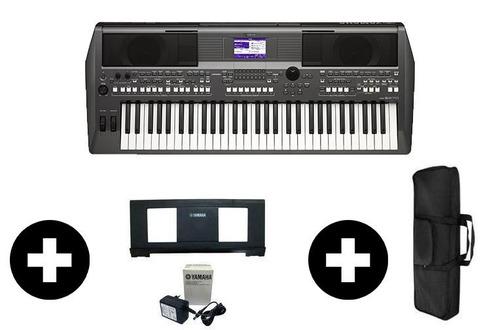 teclado arranjador psr s670 yamaha + brinde capa e ritmos