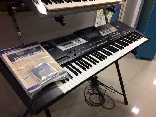 teclado arranjador roland va76 110v em ótimo estado