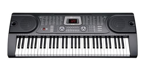 teclado arranjador tc161 61 teclas 5 oitavas spring