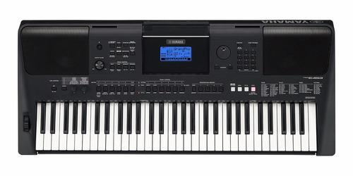 teclado arranjador yamaha psr e-453 61 teclas c/ fonte