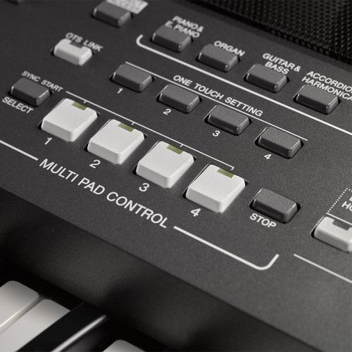 teclado arranjador yamaha psr s670 + fonte bivolt psrs670