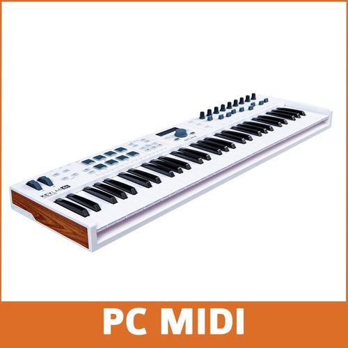 teclado arturia keylab essential 61 midi usb + software