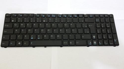 teclado asus g60 g72 g73 a52 k52 k55v k72 vx7 x50 abnt br ç