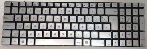 teclado asus n551 n552 n751 g551 g771 g58 g741 gris español