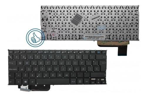 teclado asus x202 x200 x201e q200 s200 negro esp marco