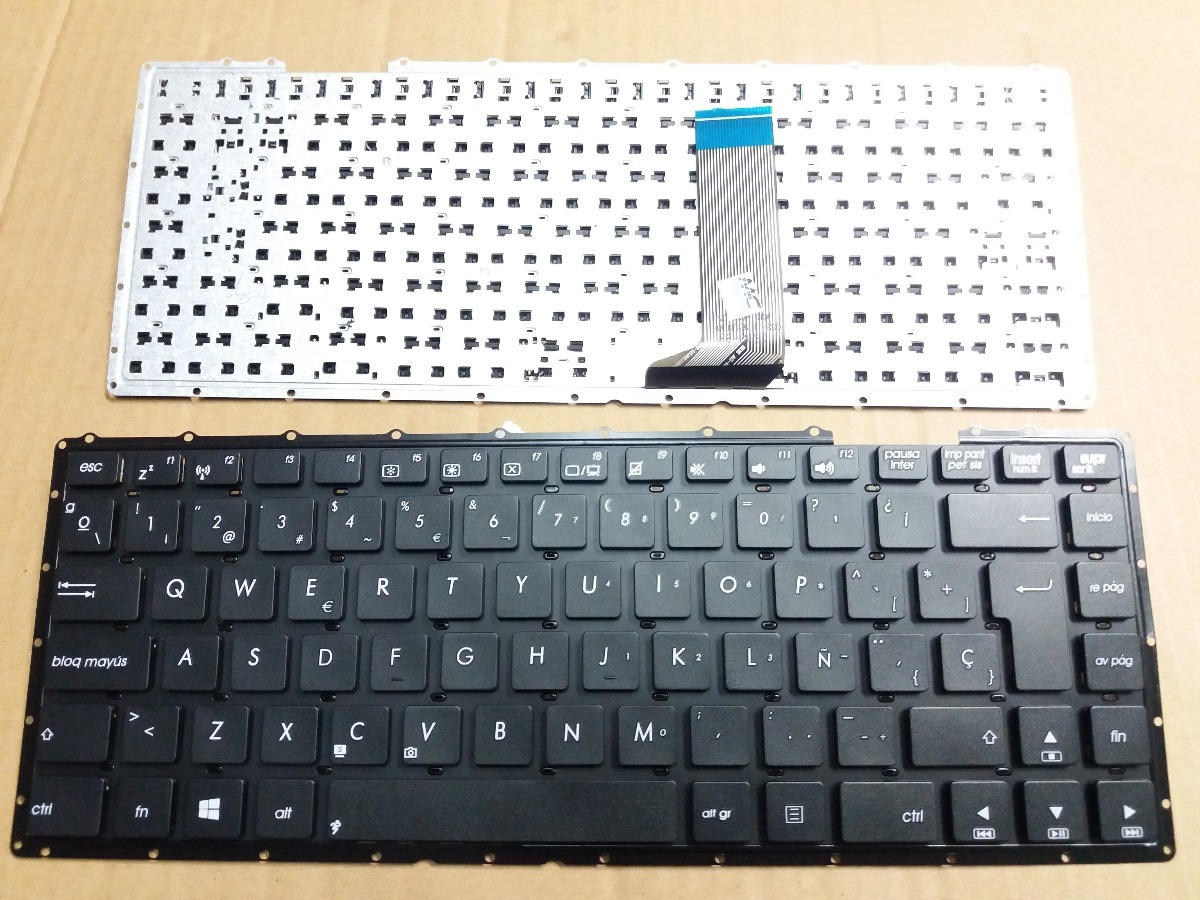 Asus Keyboard Laptop X453 X453m X453ma X453s X453sa Daftar Notebook A455l D451 D451e D451v D451ve X451 X451c X451e X451m X451ma X452e X455ld Teclado Cargando Zoom