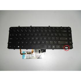 Teclado Backlight P/ Not. Hp Envy 4-1130us P/n:pk130qj1z00
