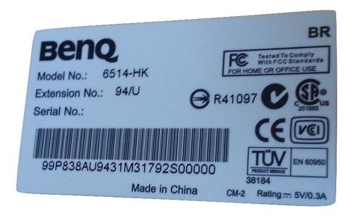 teclado benq modelo 6515-hk antigo