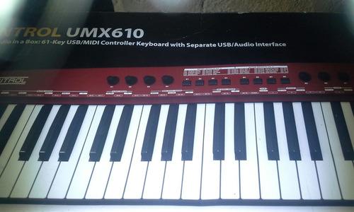 teclado beringer..nuevo en caja .completo