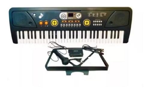 teclado bf730c piano organo 5 octavas usb mp3 aux pawer bank