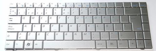 teclado bgh positivo j410 j430 plateado p/n: 82r-14b223-4091