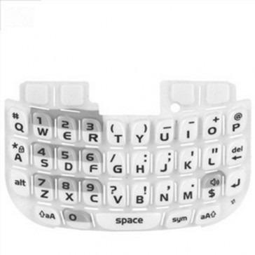 teclado blackberry 8520 blanco original